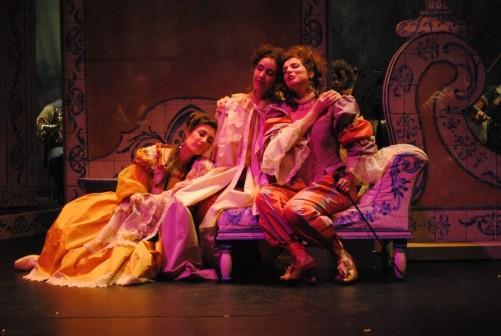 Isabelle dans L'Amant Jaloux de Grétry